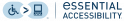 Logo eSSENTIAL ACCESSIBILITY Revue