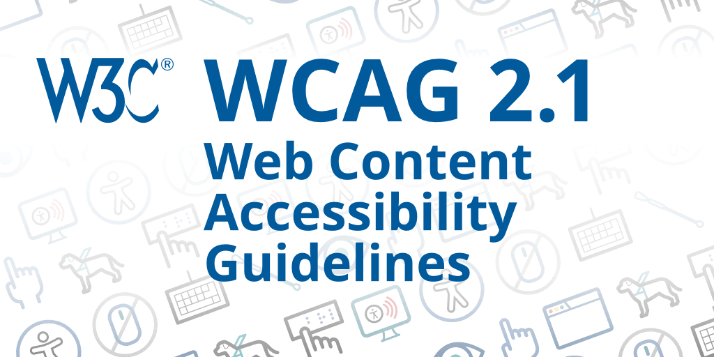 W3C_Web_Content_Accessibility_Guidelines_version_2.1_web accessibility