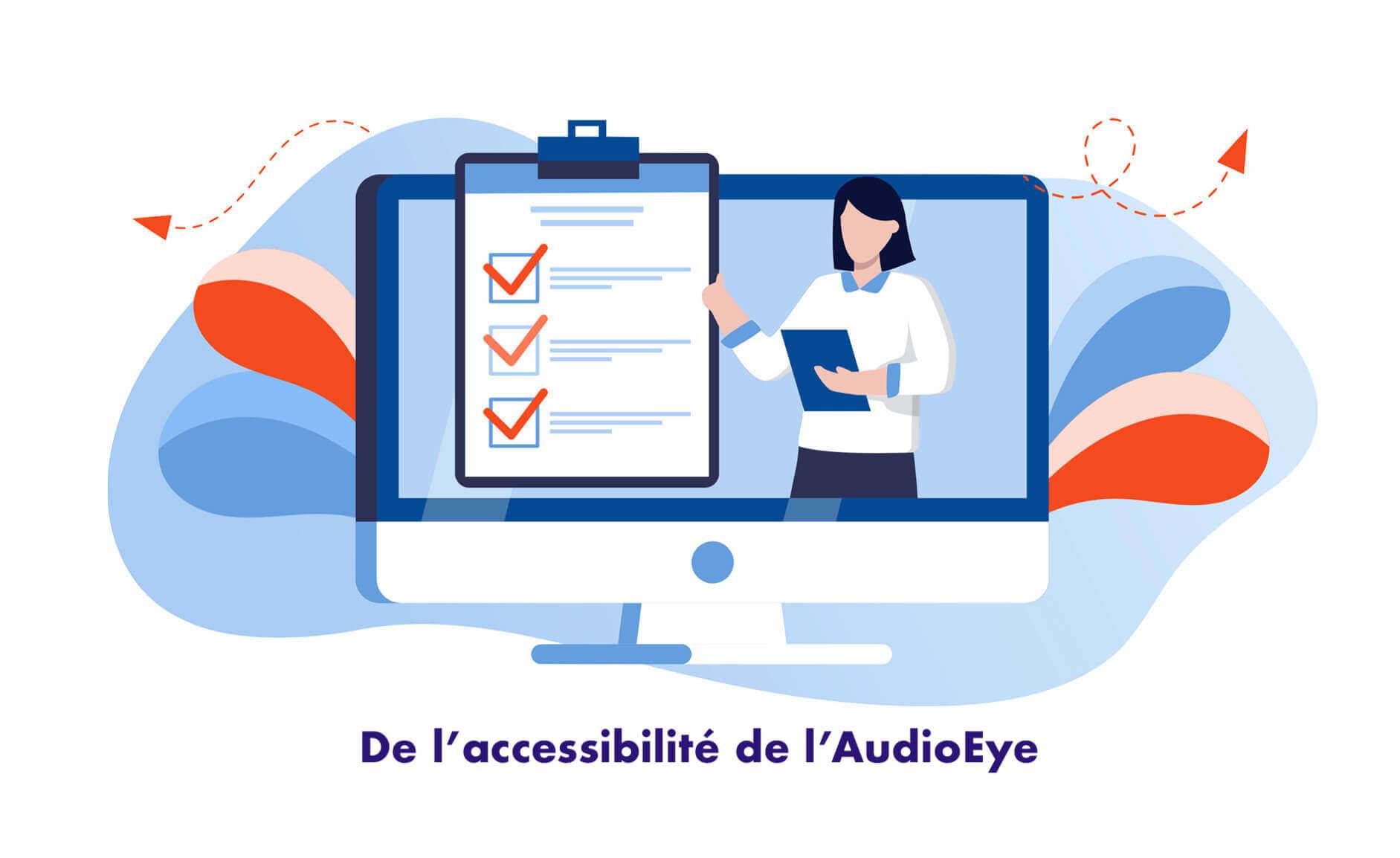 Rapport d'évaluation et de test de conformité de l'accessibilité de l'AudioEye