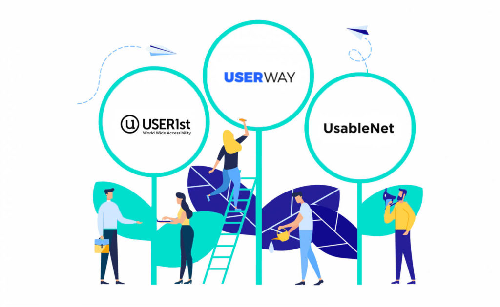 User1st Userway Usablenet comparison